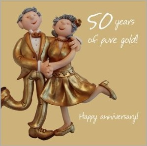 50th Wedding Anniversary Gift Ideas That Are Traditional 50 Years Of Pure Gold